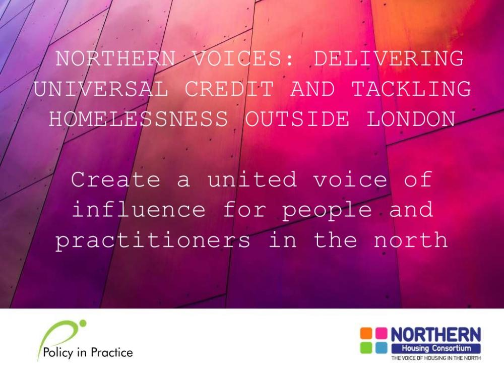 View the Northern Voices SlideDeck