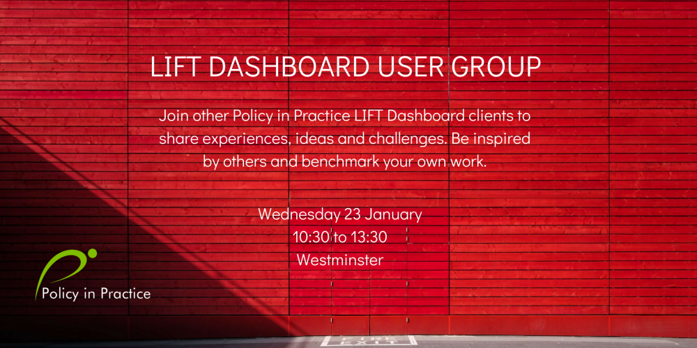 LIFT Dashboard Steering Group